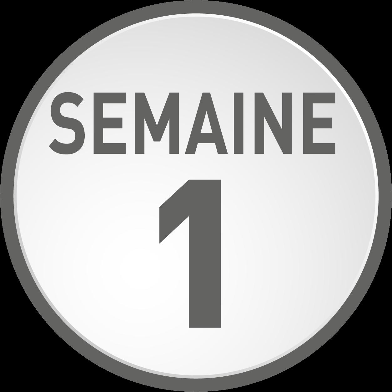 Semaine 1