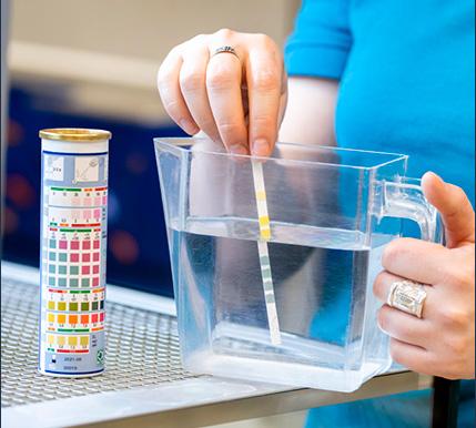 Aquariumwater-test